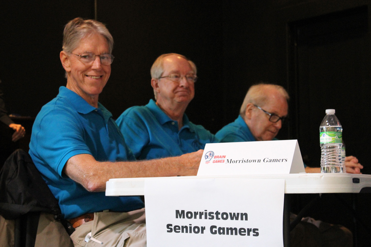 Former champs and championship hosts, Morristown's Senior Gamers.