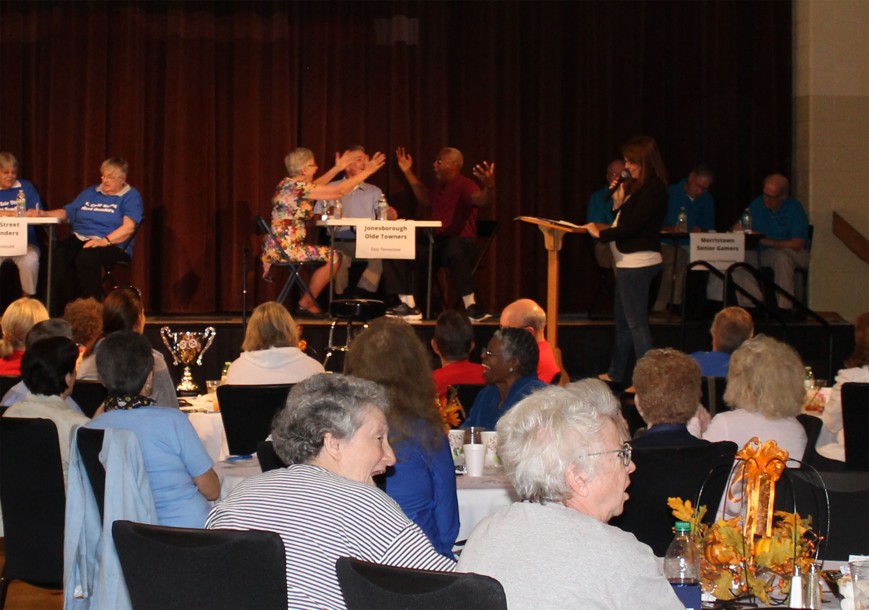 The Jonesborough Olde Towners win the 2016 Tennessee Senior Brain Games championship!