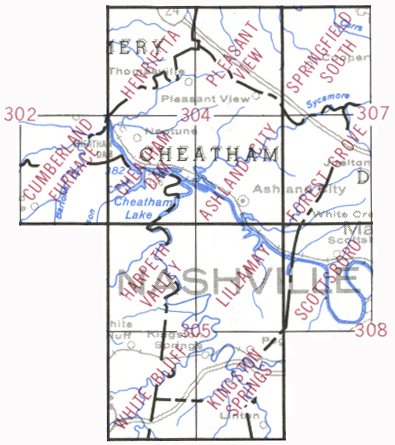 topographic maps by county