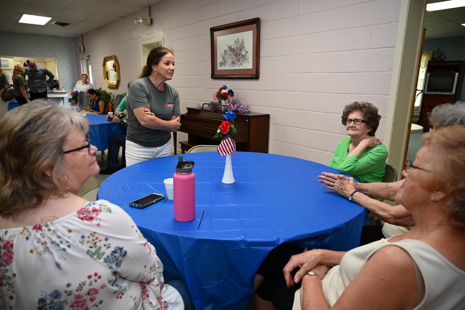 First Lady visits Adamsville Senior Center in McNairy County and delivers Meals on Wheels with Mayor Smith