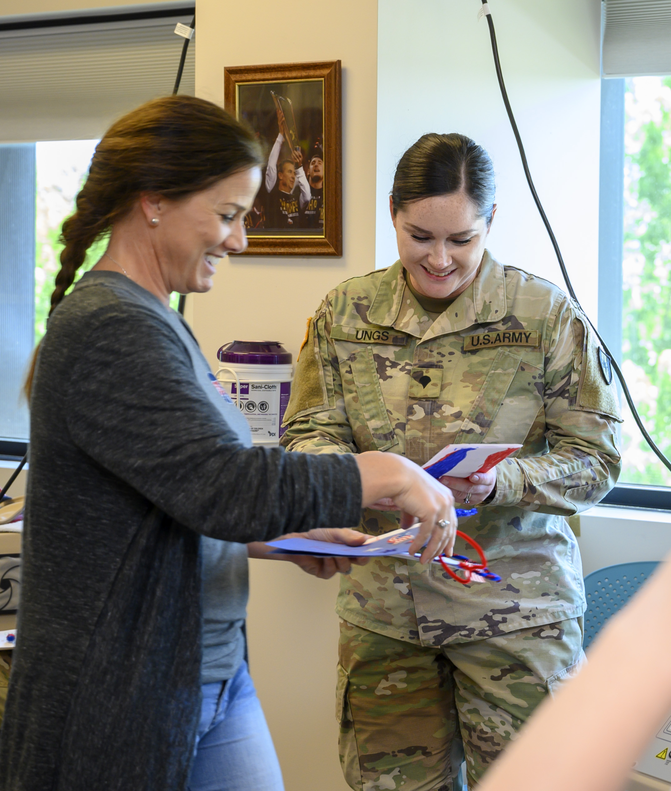 First Lady visits Blanchfield Army Community Hospital at Fort Campbell
