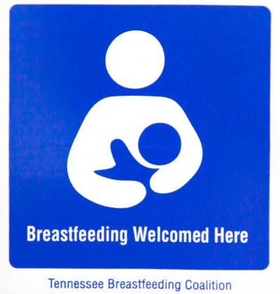 Breastfeeding Welcomed Here