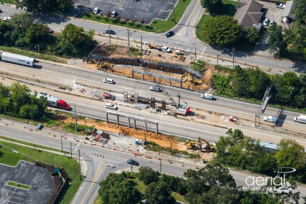 I-24 at Belvoir Avenue - August 2020