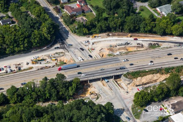 I-24 at Germantown Road - August 2020