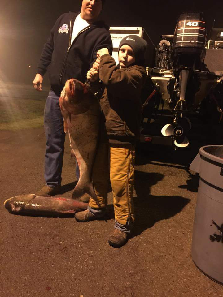 Connor Edwards Class B - 36 lb, 14 oz. Silver Carp