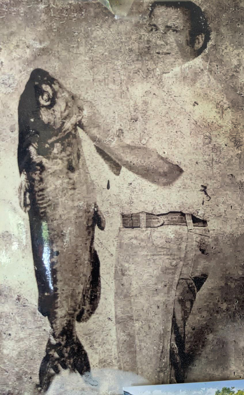Clint Walters Jr., Class A - Channel Catfish – 41 lbs. – Fall Creek Falls State Park – July 30, 1982