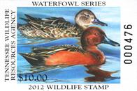 TWRA Wildlife Stamp