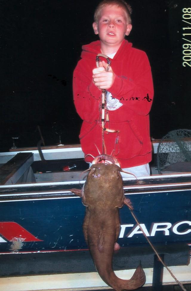 Brandon Wallace 37.75 inch Flathead Catfish