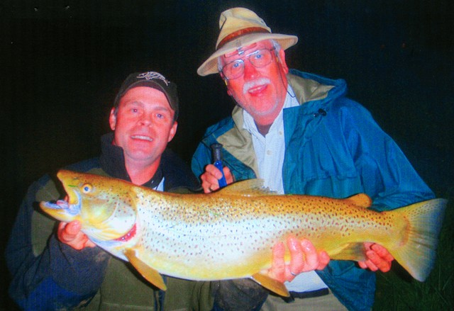 David Maxey 30 inch Brown Trout