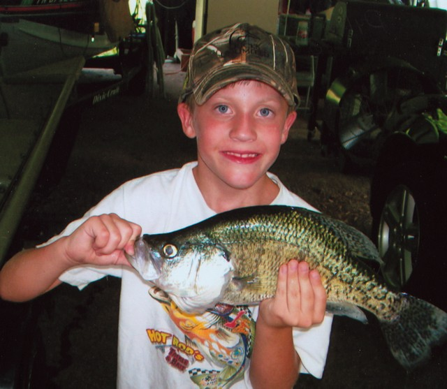 Dylan Fowler 16 inch White Crappie