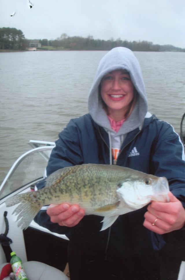Erica Himmelreich 17.5 inch White Crappie