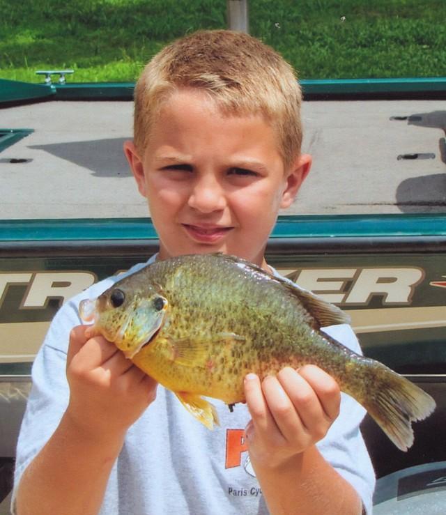 Gage Starks 11.25 inch Redear Sunfish
