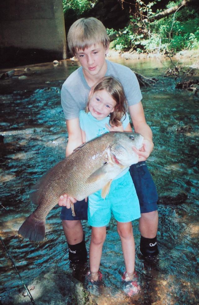Hailey Duncan 37 inch Freshwater Drum
