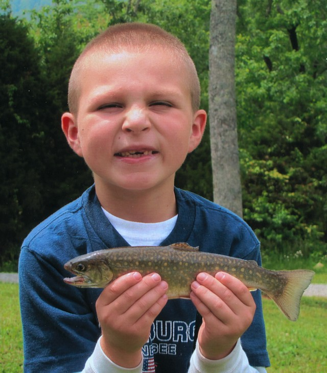 Hunter Bowerman 10.5 inch Brook Trout