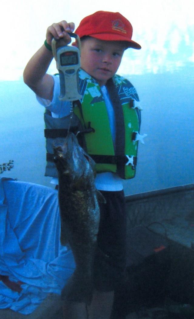 Jacob Tipton 23 inch Smallmouth Bass