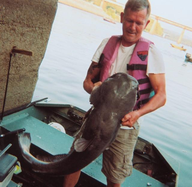 James McRoy 46.6 inch Blue Catfish