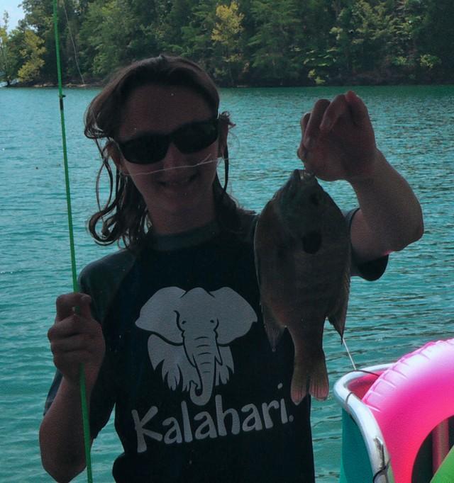 Jessica Sullivan 10.25 inch Bluegill
