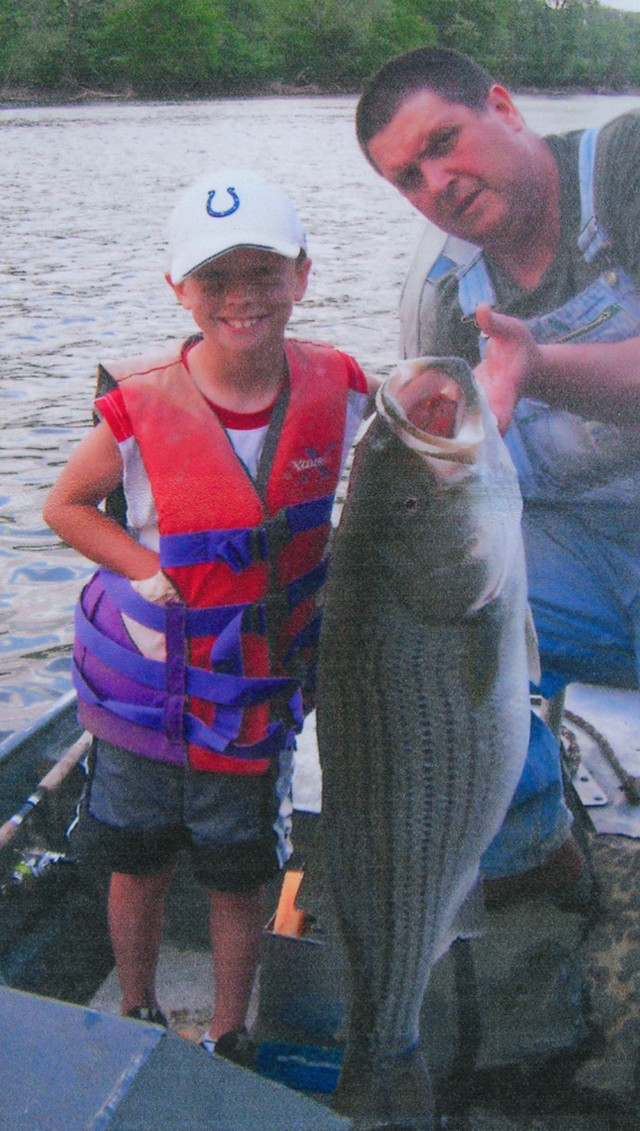 Karson Atkins 40 inch Striped Bass