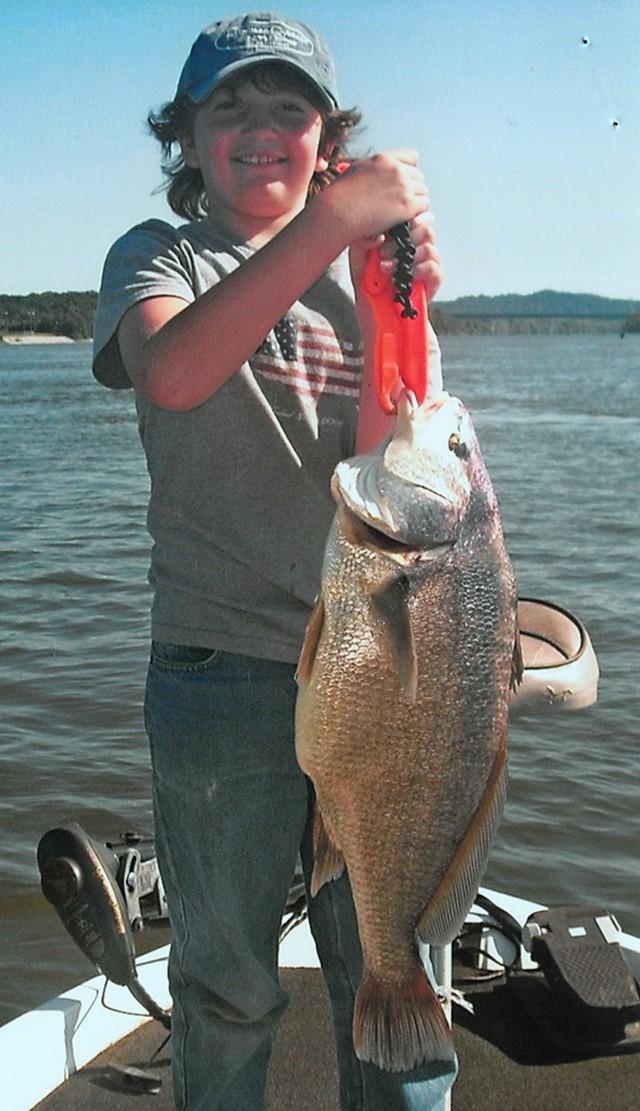 Logan Mitchell 29.5 inch Freshwater Drum