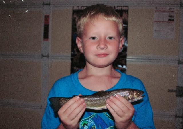 Matthew Arender 10.5 inch Brook Trout