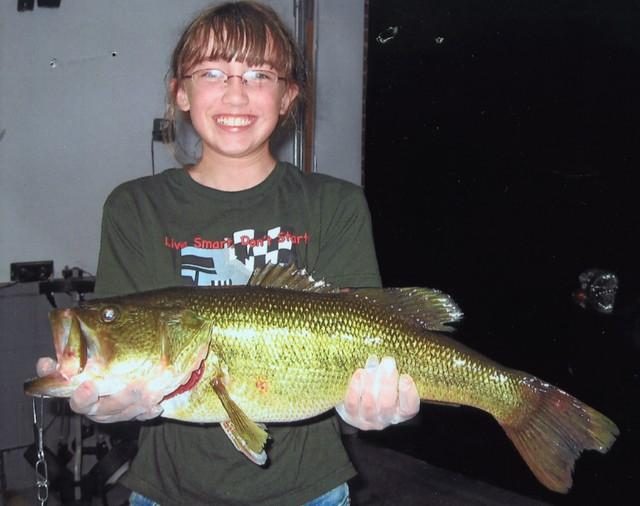Megan Wilson 24 inch Largemouth Bass