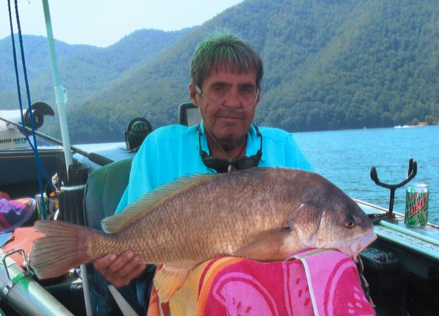 Roy Dellinger 29 inch Freshwater Drum