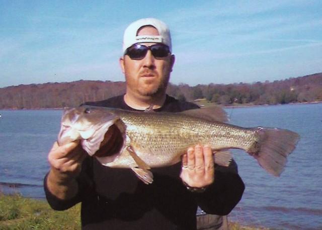 Trey Harrington 24 inch Largemouth Bass