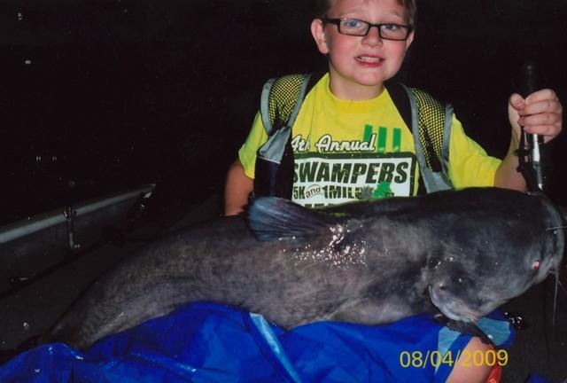 Jack Schoonover 40 inch Blue Catfish