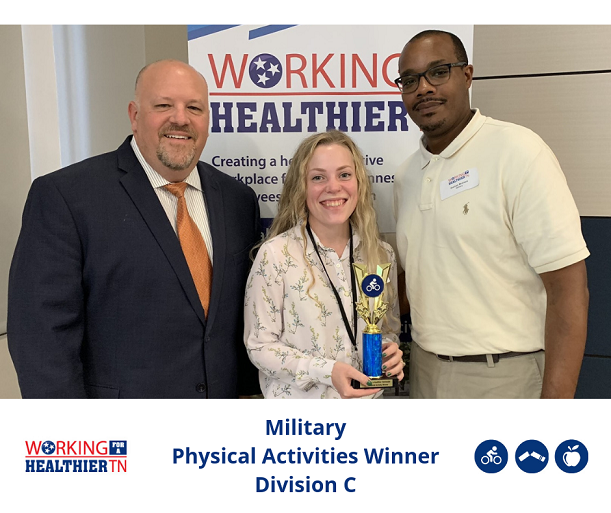 Military won the Physical Activities trophy for Division C.