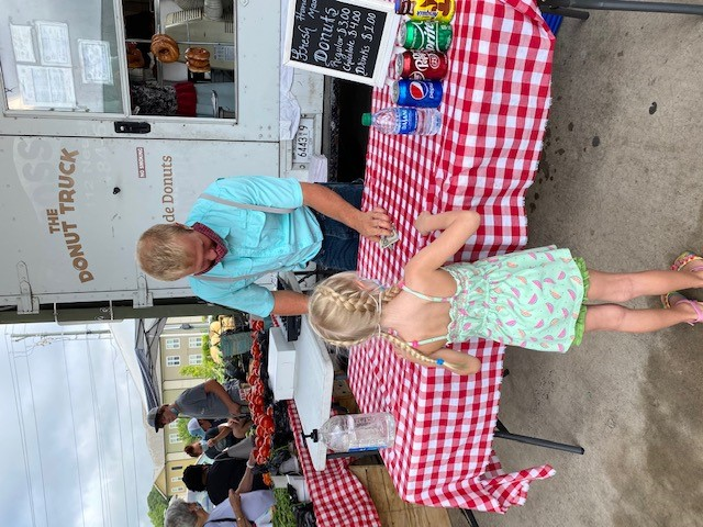 Janet Neihoff snapped a couple of pics while supporting her local farmers market during National Farmers Market Week.