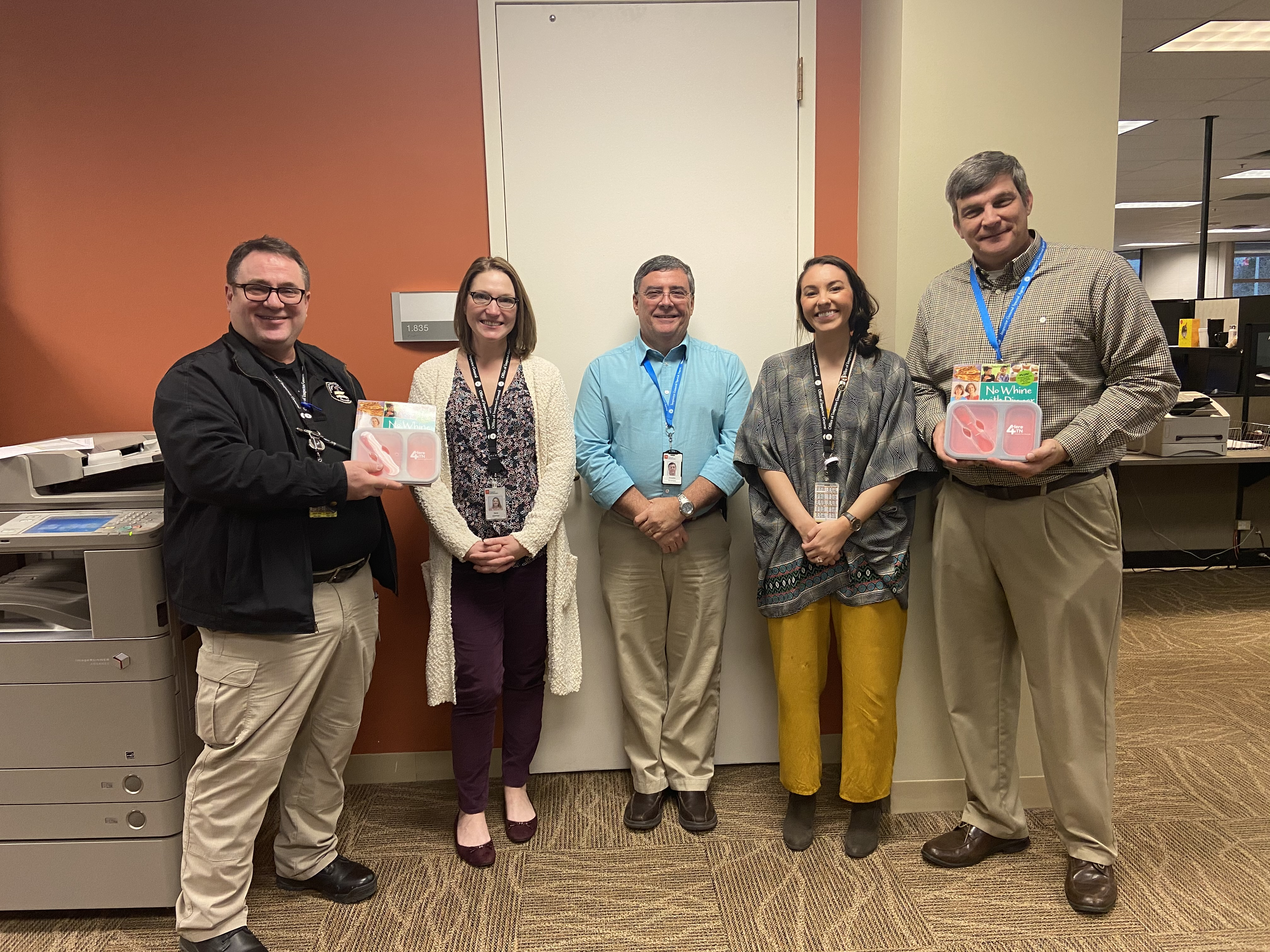 F&A's Office of Inspector General held a soup and stew party. They had four entries: Hoosier Stew, Potato Soup, Zuppa Toscano and Chicken Tortilla. Three OIG agents judged the soups. Hoosier Stew and Zuppa Toscano were named the winners, but we're told all of them were very delicious!