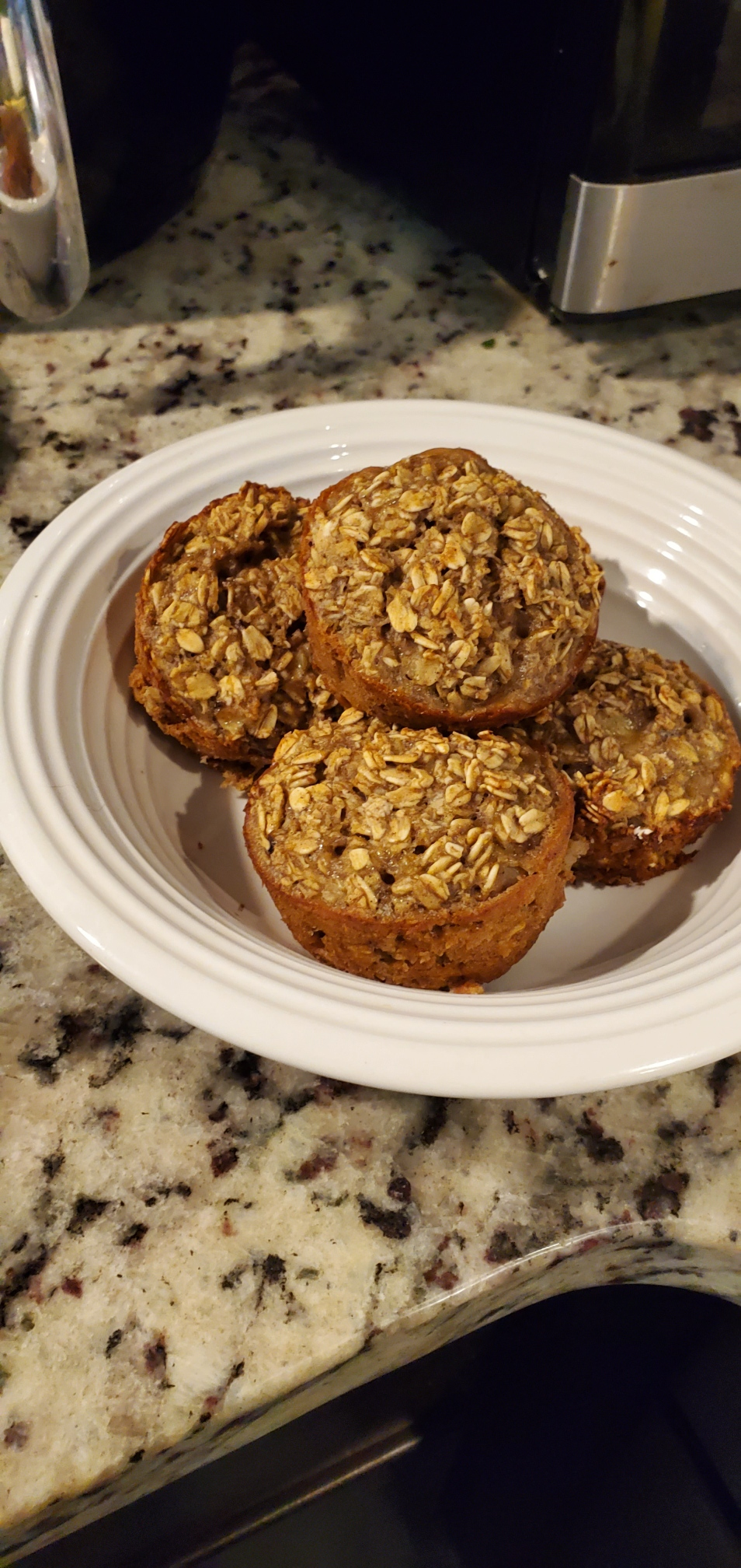 DCS Wellness Council member Delora Ruffin made healthier Banana Nut Muffins during their KNOWvember region-wide Challenge.