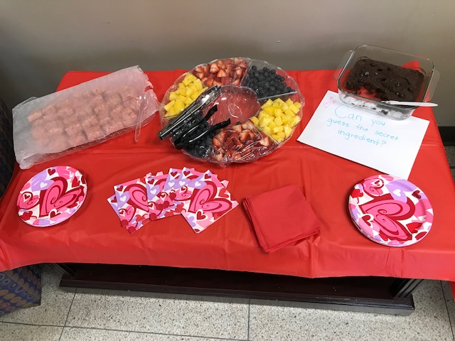 DIDD's Middle TN Regional Office hosted a healthier chocolate taste test for Valentine's Day.