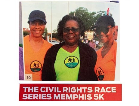DIDD West's Director of Nursing, Kim Gibson, was recognized in the June 2019 issue of Memphis Health & Fitness magazine for completing a 5K.