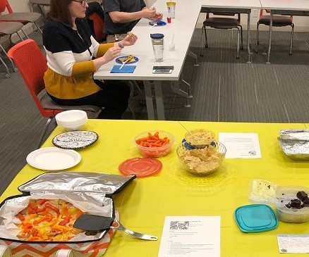 The F&A Wellness Council hosted an April fool's recipe taste testing event to show how tasty healthier recipes can be.