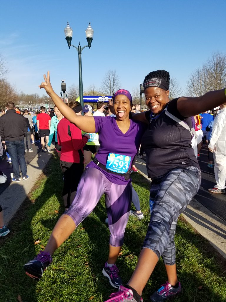 Latamera Woodley from the Department of Human Services ran 13.1 miles and 22 hills in Kentucky this past weekend. She also ran more than six miles of a 51-mile relay race the weekend before from Selma to Montgomery.
