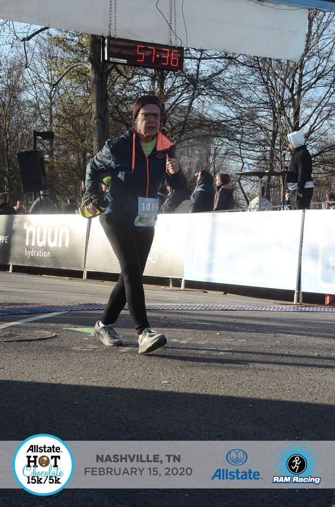 Congrats to DHS employee Cheryl Cruse who recently ran the Nashville Hot Chocolate 5k!