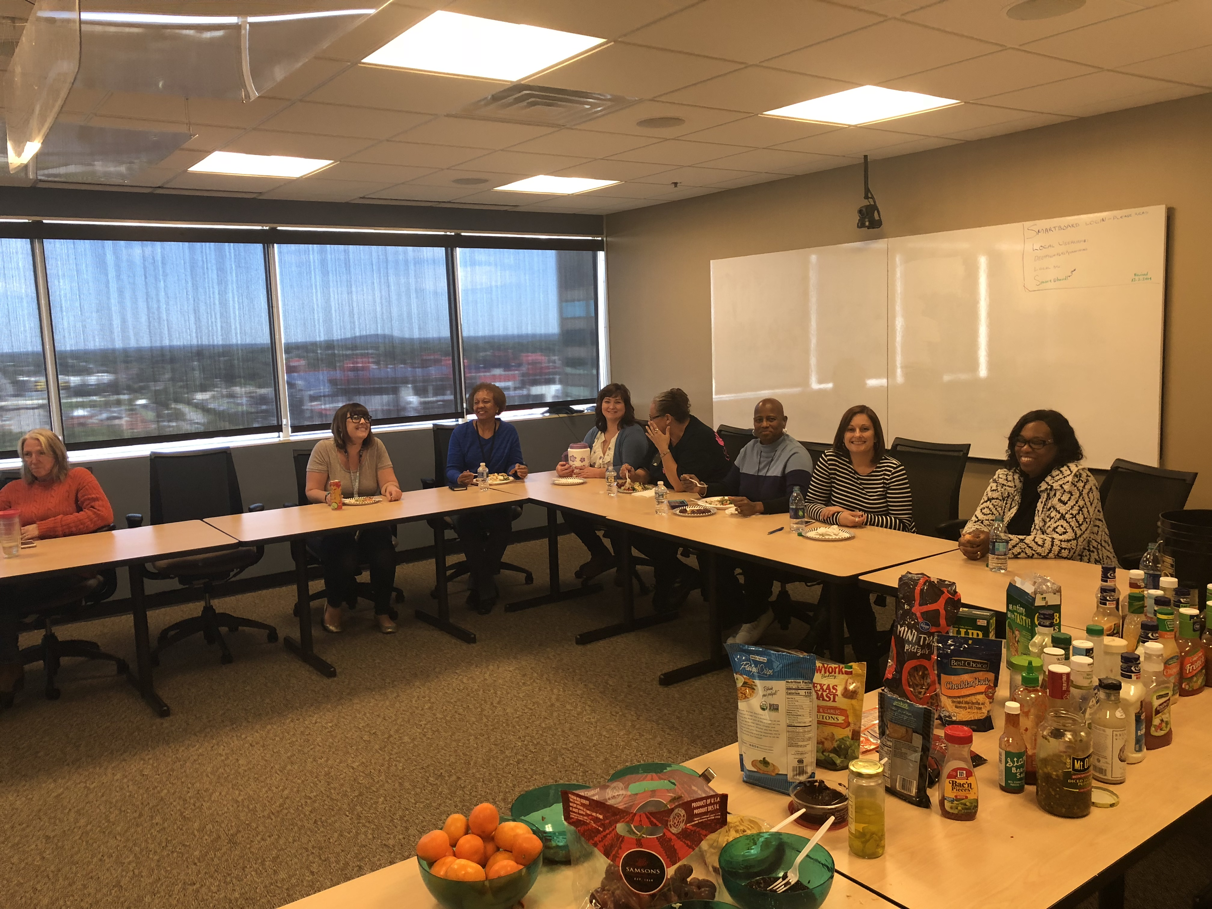 The Department of Human Services Wellness Council hosted a presentation with Optum about Unhealthy Eating.