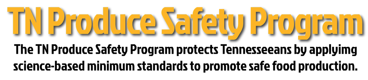 Produce Safety Rule Header