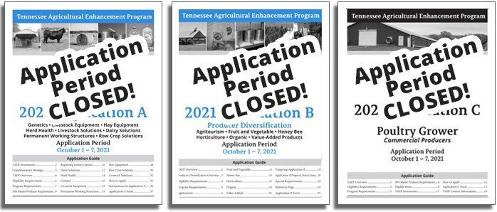 2019 TAEP Application Materials