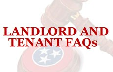 Landlord and Tenant FAQs