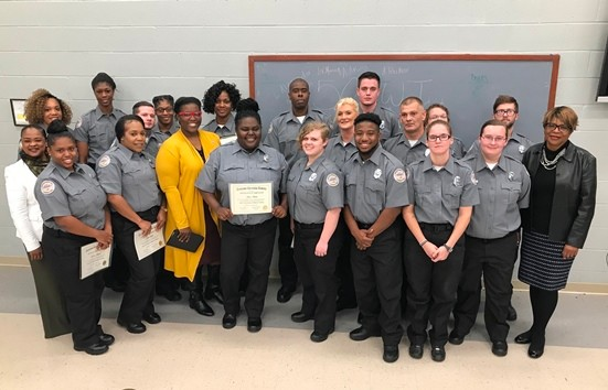 TDOC Holds Graduation For 19 New Correctional Officers