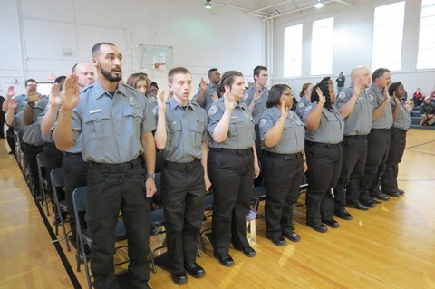 TDOC Holds Graduation For 37 New Correctional Officers