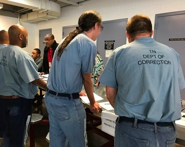 Offenders Participating In Reentry Fair @ Northwest Correctional Complex