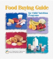 The original hard copy cover of the Food Buying Guide