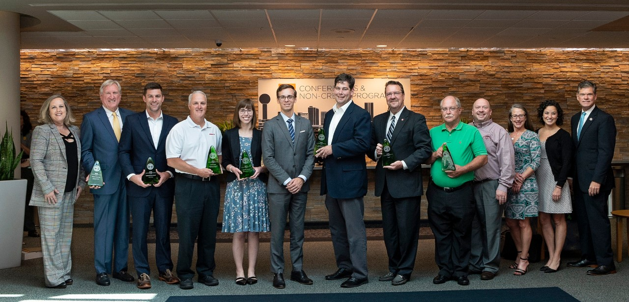 winners of the 2018 Tennessee Sustainable Transportation Awards