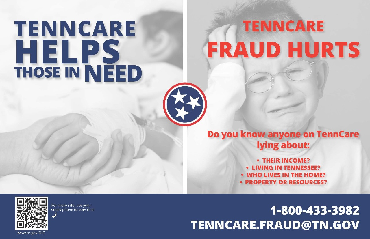 Tenncare helps those in need flier