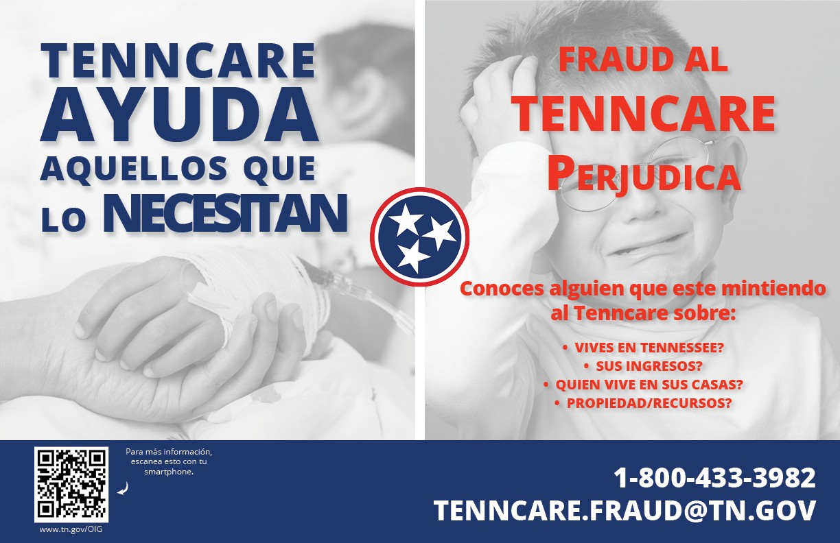 Tenncare helps those in need flier - spanish