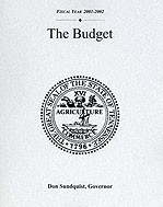 The Budget, Fiscal Year 2001-2002
