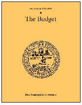 The Budget, Fiscal Year 2002-2003